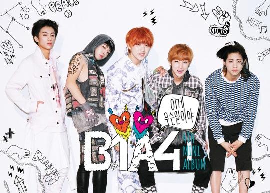 B1A4《What's Going On》 披上青春萌样的音乐雅痞