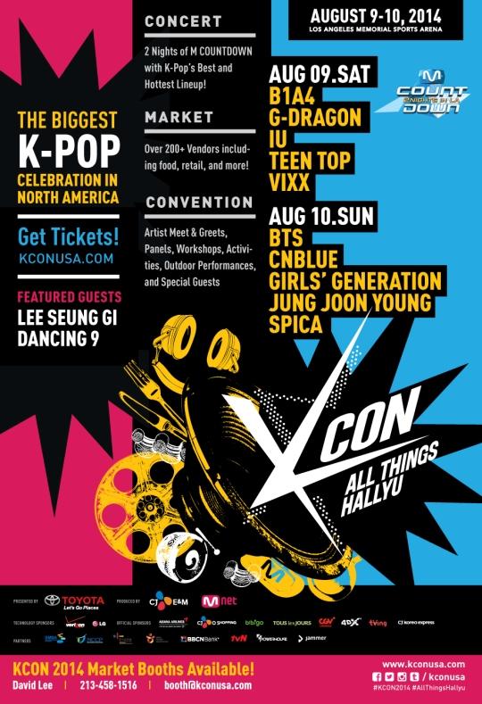 KCON 2014_poster